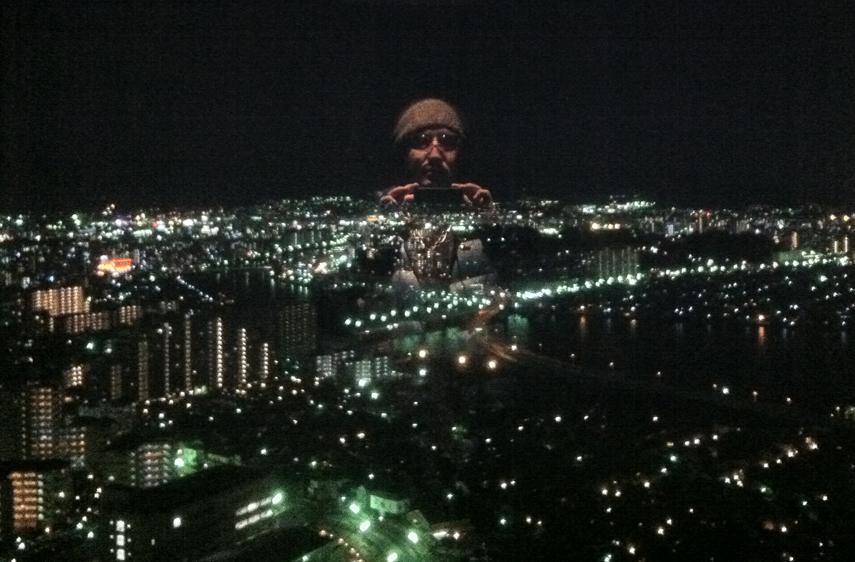福岡タワー内
