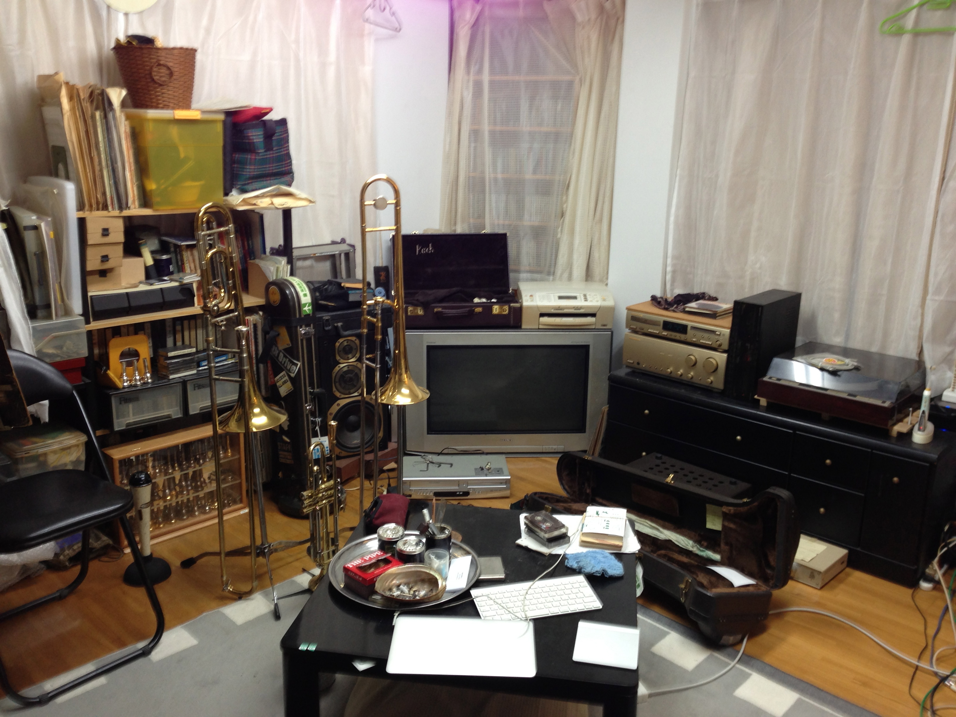 アパートの部屋